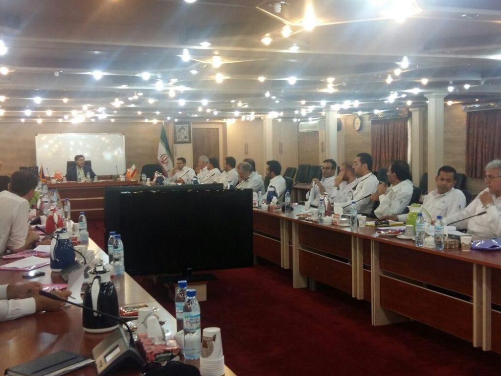 کلاسهای آموزشی شرکت نفت و گاز پارس