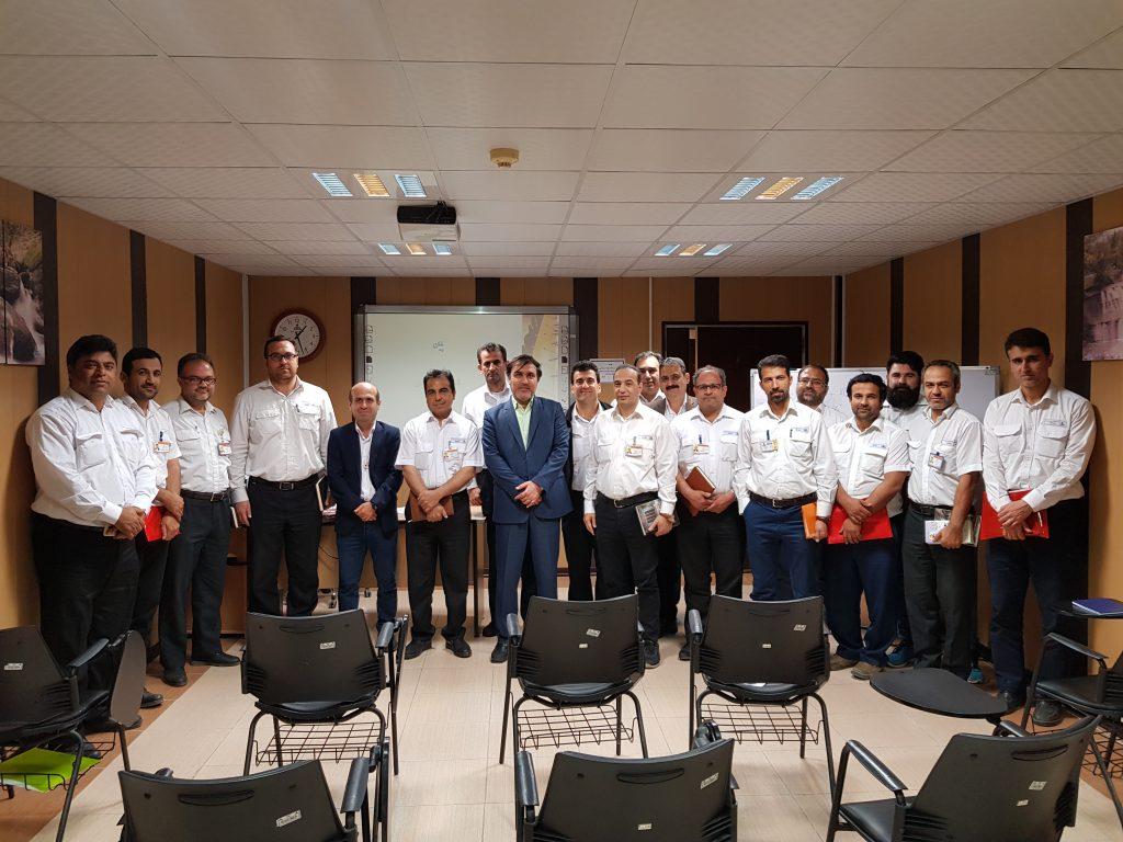 کلاسهای آموزشی شرکت مجنمع گازی پارس جنوبی